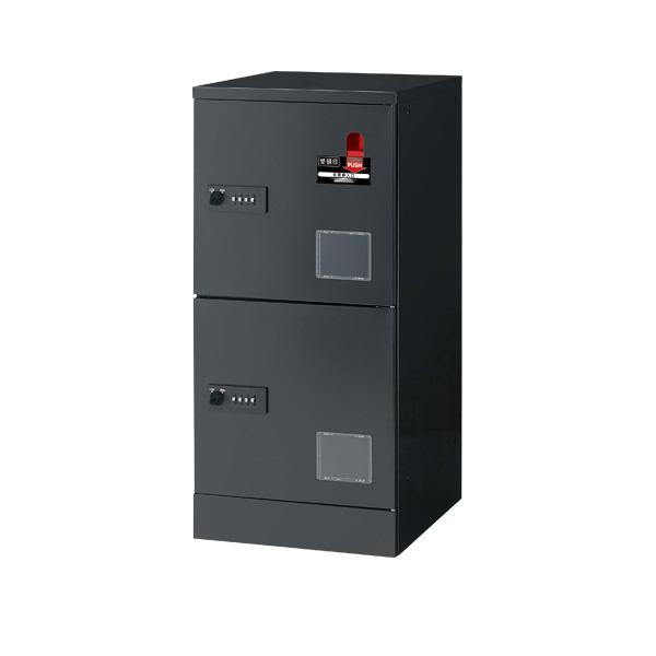宅配用ロッカー 2段受領印付 JTB-L12SD: