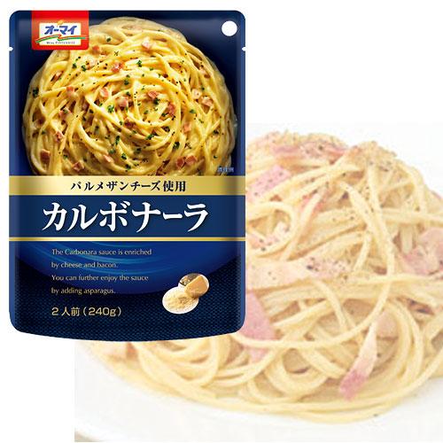日本製粉 パスタソース オーマイ カルボナーラ 240g:
