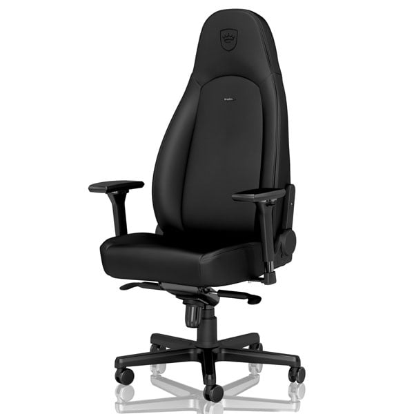 noblechairs ゲーミングチェア ICON Black Edition NBL-ICN-PU-BED-SGL: