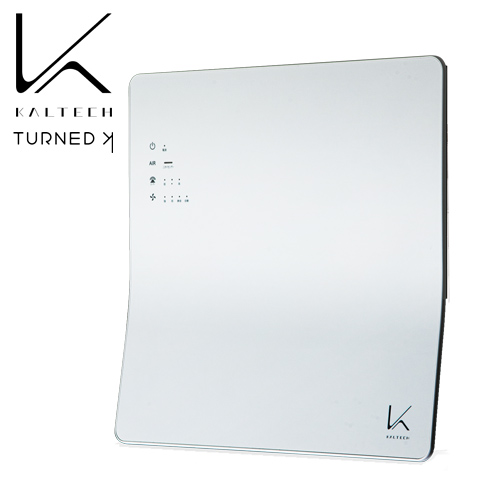カルテック 空気清浄機 光触媒除菌・脱臭機 ターンド・ケイ 壁掛けタイプ 約8畳 KL-W01: