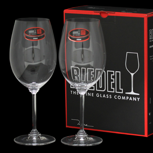 RIEDEL ワイングラス ワイン シラーズ/シラー 2個セット 6448/30: