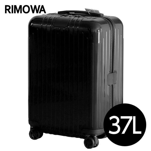 リモワ RIMOWA スーツケース エッセンシャル ライト キャビン 37L グロスブラック ESSENTIAL Cabin 823.53.62.4: