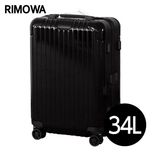 RIMOWA スーツケース エッセンシャル キャビンS 34L グロスブラック ESSENTIAL Cabin S 832.52.62.4: