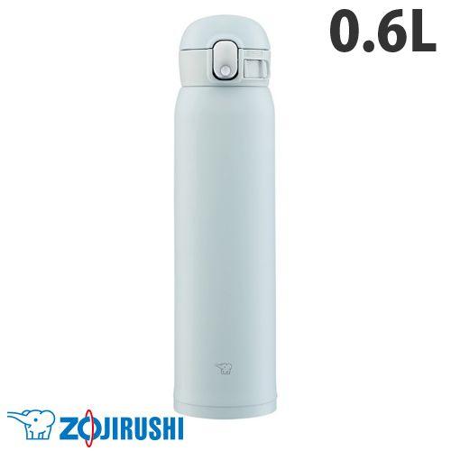 象印マホービン 水筒 ステンレスマグ TUFF ワンタッチタイプ 0.60L アイスグレー SM-WA60-HL: