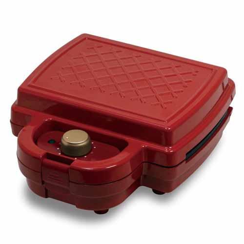 ヒロ・コーポレーション PURETONE タイマー付きホットサンドメーカー レッド HS-850T-RD: