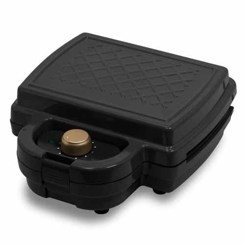 ヒロ・コーポレーション PURETONE タイマー付きホットサンドメーカー ブラック HS-850T-BK: