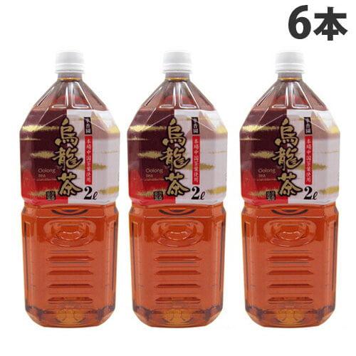 国産品 烏龍茶 2L 6本: