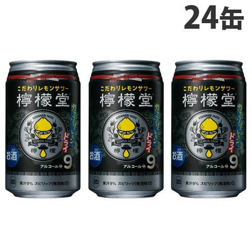 コカ・コーラ 檸檬堂 カミソリレモン 350ml×24缶: