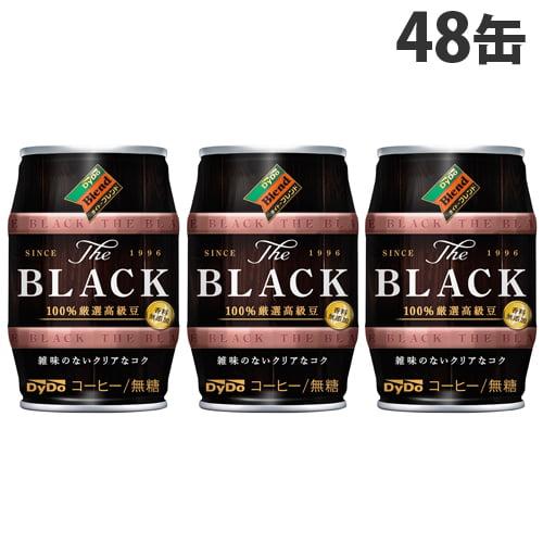 ダイドー ザ・ブラック 185g×48缶: