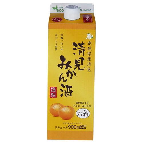 キング醸造 愛媛県清見みかん酒 900ml: