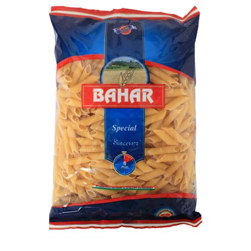 バハール ショートパスタ ペンネ (デュラム小麦100%) 500g: