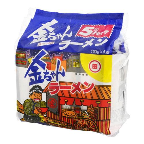 徳島製粉 金ちゃん 金ちゃんラーメン 5食パック: