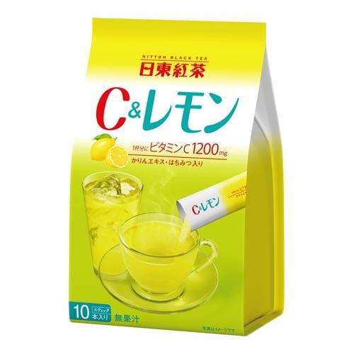 日東紅茶 C &レモン 9.8g 10袋