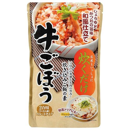 光商 炊き込みご飯の素 牛ごぼう 500g: