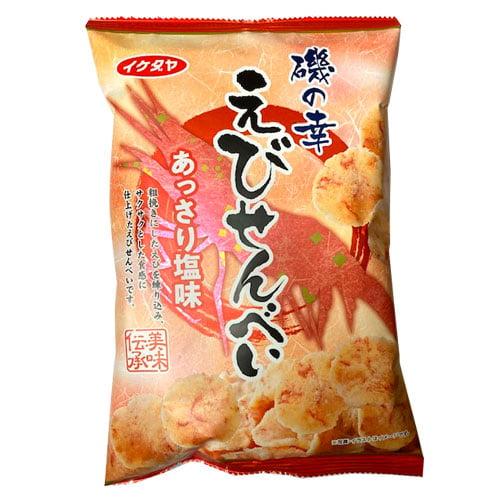 イケダヤ製菓 磯の幸 えびせんべい 90g:
