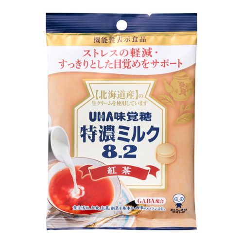 UHA味覚糖 特濃ミルク8.2 紅茶 93g: