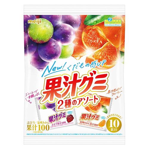 明治 果汁グミ アソート 163g: