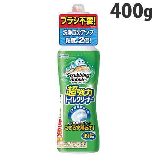 ジョンソン トイレ用洗剤 スクラビングバブル 強力トイレクリーナー 400g: