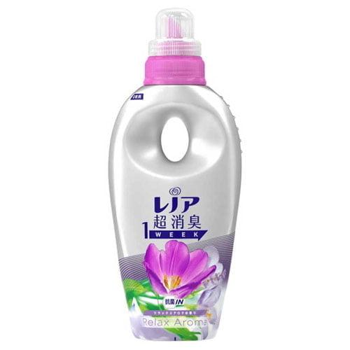 P&G 柔軟剤 レノア本格消臭 リラックスアロマの香り 本体 550ml:
