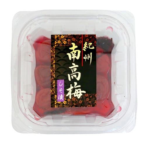 梅庵 紀州南高梅 しそ梅 塩分約12% 150g: