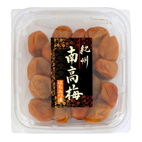 梅庵 紀州南高梅 はちみつ梅 塩分約8% 300g: