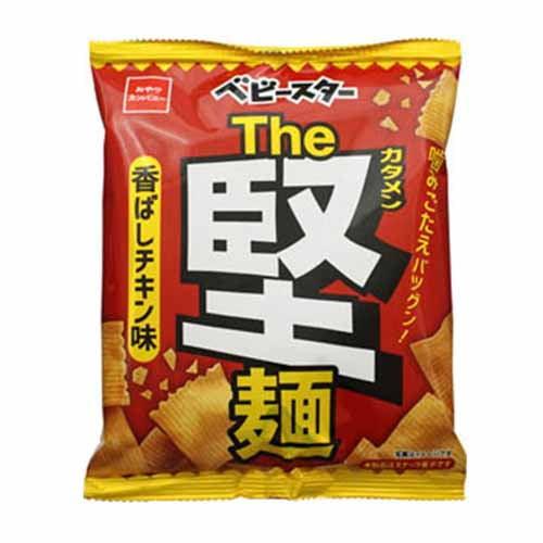 おやつカンパニー ベビースター The堅麺香ばしチキン味 60g: