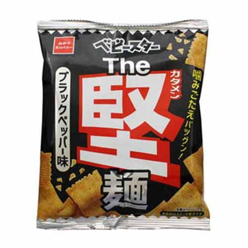 おやつカンパニー ベビースター The堅麺ブラックペッパー味 60g: