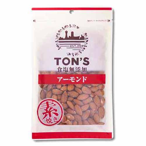 東洋ナッツ 食塩無添加 アーモンド大 230g: