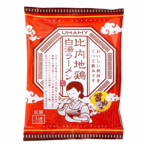 ノリットジャポン UMAMY 比内地鶏白湯ラーメン 醤油味 125g: