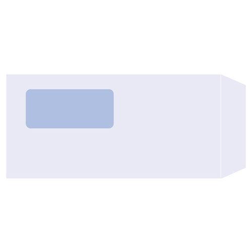 PCA 窓付き封筒 単票 (A43面単票用) 【旧品番:PA1371】 PA1371F