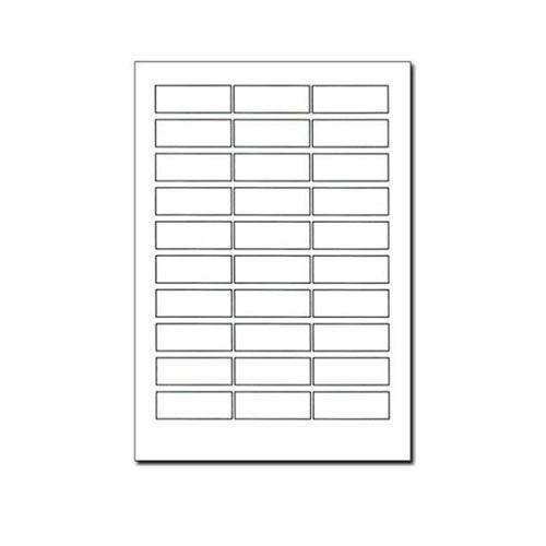 PCA ラベルシール 単票 (3連30面) 【旧品番:PA1333】 PA1333F