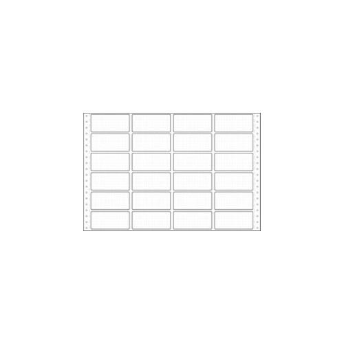 東洋印刷 タックシール 連続 (4連24面) 【旧品番:PA331】 PA331F