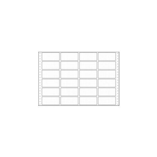 東洋印刷 タックシール 連続 (4連24面) 【旧品番:PB331】 PB331F