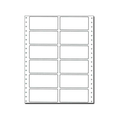 東洋印刷 タックシール 連続 (2連12面) 【旧品番:PA332】 PA332F【他商品と同時購入不可】