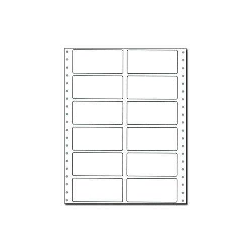 東洋印刷 タックシール 連続 (2連12面) 【旧品番:PB332】 PB332F