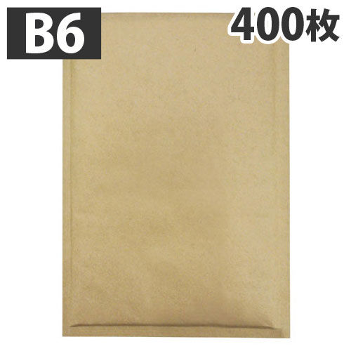 川上産業 セフティライト クッション封筒 あんしん封筒 茶色 400枚 1箱