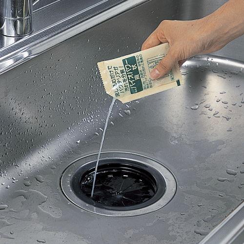アズマ工業 排水口用洗浄剤 バイオパワー液状 排水パイプ用 50ml 5包入