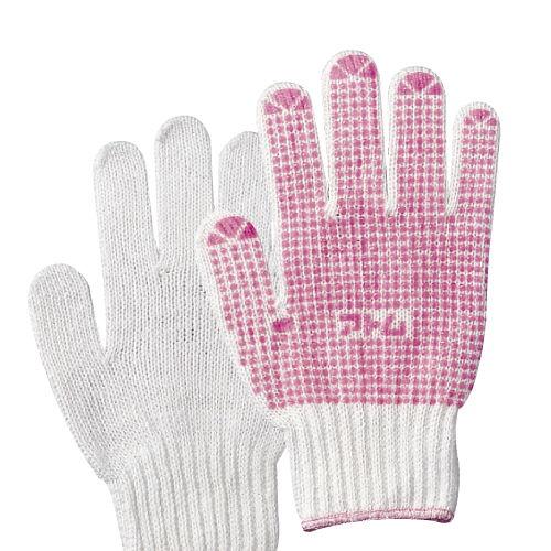 アトム すべり止め手袋 女性用 ピンク 1双