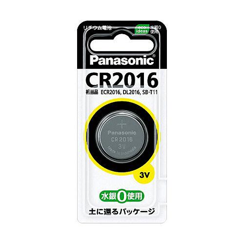パナソニック コイン形リチウム電池 1個 CR2016P