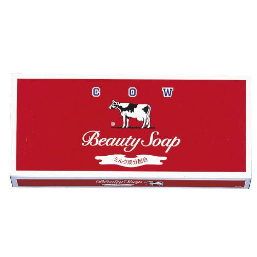 牛乳石鹸 固形石鹸 カウブランド 赤箱 レギュラーサイズ 各100g×6個入