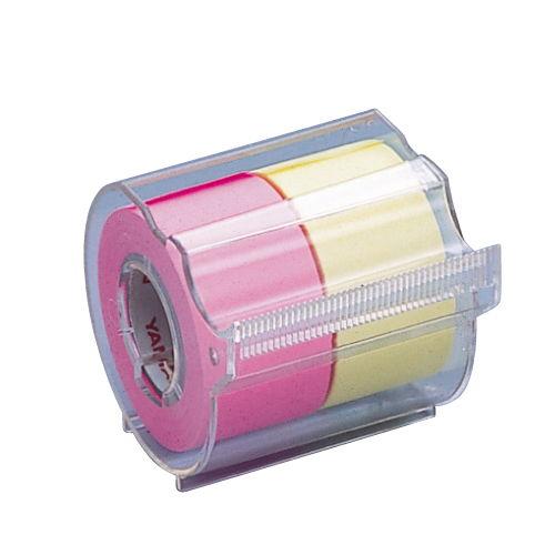 ヤマト メモックロールテープ 蛍光カラー ローズレモン NORK-25CH-6A