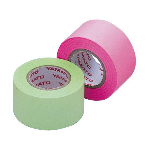 ヤマト メモックロールテープ 詰替用 25mm×10m 蛍光カラー ローズライム WR-25H-6B