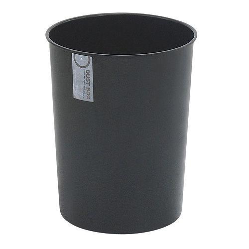 不動技研 ゴミ箱 ブラック 7L F2292-BK