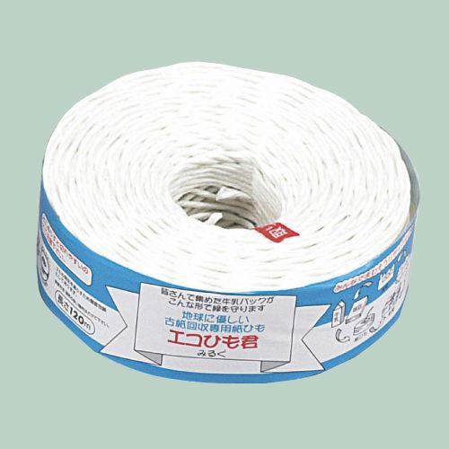 オープン工業 エコひも君 古紙回収専用紙ひも 120m巻