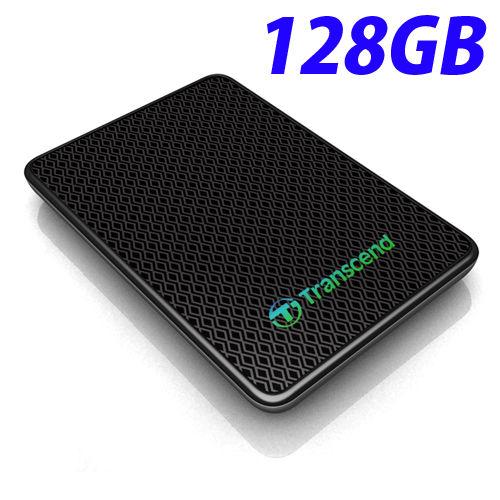 トランセンド 外付ソリッドステートドライブ SSD 128GB USB3.0 TS128GESD400K