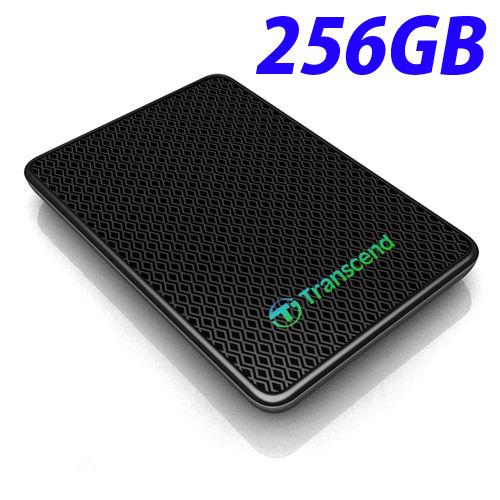 【売切れ御免】TS256GESD400K トランセンド 外付SSD 256GB USB3.0