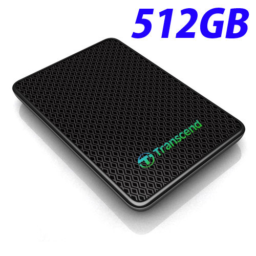 トランセンド 外付ソリッドステートドライブ SSD 512GB USB3.0 TS512GESD400K