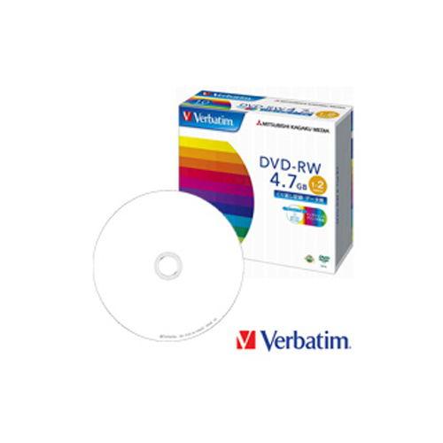 三菱ケミカルメディア DVD-RW Verbatim 4.7GB 10枚 DHW47NP10V1