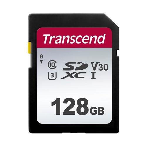 トランセンド SDカード SDXCカード class10 UHS-I U3 V30 128GB