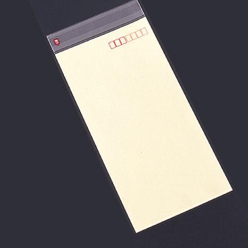 透明フィルム封筒 長3 クリーム 100枚